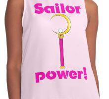 "Sailor Moon ""Sailor Power!"" Contrast Tank"