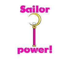 "Sailor Moon ""Sailor Power!"" Photographic Print"