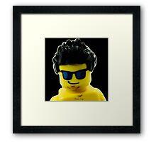 Aaron's Lego Lego Me Framed Print