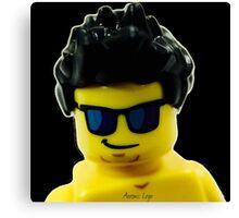 Aaron's Lego Lego Me Canvas Print