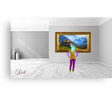 Look at the Art Canvas Print