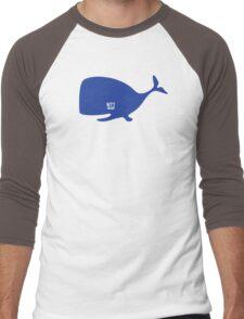 Groovy Whale T-shirt Men's Baseball ¾ T-Shirt