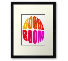 BOOM-BOOM - products Framed Print