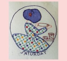 Thursday Purple Pie Baking Bonnet Lady Kids Clothes