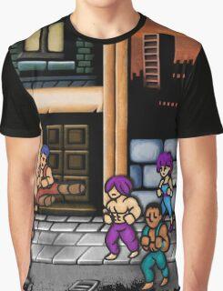 Double Dragon Alternate (Request) Graphic T-Shirt