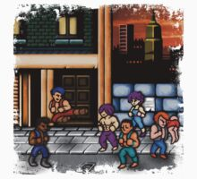 Double Dragon Alternate (Request) Baby Tee