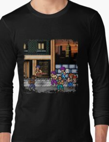 Double Dragon Alternate (Request) Long Sleeve T-Shirt