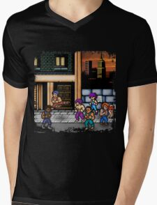 Double Dragon Alternate (Request) Mens V-Neck T-Shirt