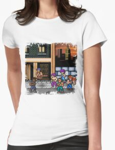 Double Dragon Alternate (Request) Womens Fitted T-Shirt