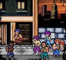 Double Dragon Alternate (Request) by likelikes