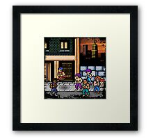 Double Dragon Alternate (Request) Framed Print