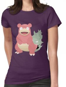 Slowbro Womens Fitted T-Shirt