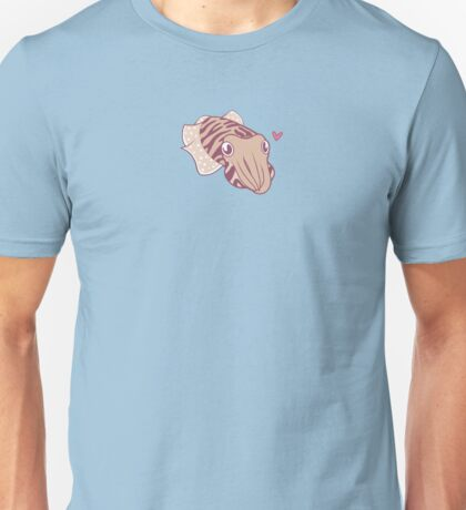 Cuttlefish love Unisex T-Shirt