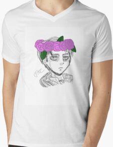 Levi Bust Mens V-Neck T-Shirt
