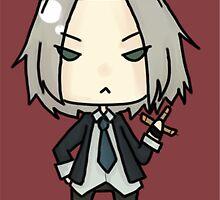 Gokudera by scribblely-face
