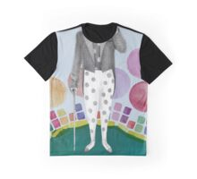 clown and lots of dots Graphic T-Shirt