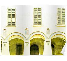 Fognano: arch and windows Poster