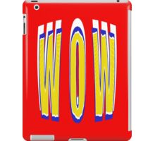 BIG WOW - products iPad Case/Skin