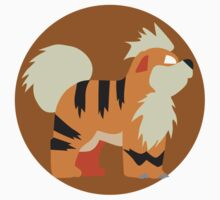 Growlithe - Basic by Missajrolls