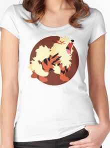 Arcanine - Basic Women's Fitted Scoop T-Shirt