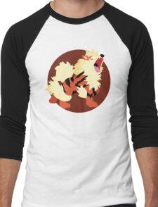 Arcanine - Basic Men's Baseball ¾ T-Shirt