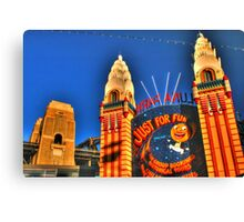 Luna Park .. Just For Fun Canvas Print