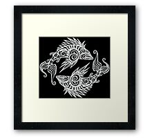 Two Fish Framed Print