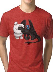 Baymax Love Friend Tri-blend T-Shirt