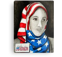 Hijab Metal Print