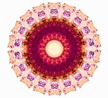 Kindness Mandala Art by Sharon Cummings by Sharon Cummings