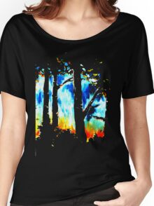 The edge of the forest Women's Relaxed Fit T-Shirt