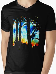 The edge of the forest Mens V-Neck T-Shirt