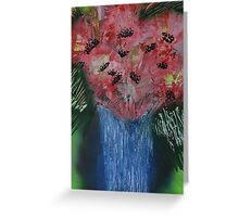 Floral exhibition exhibit Greeting Card