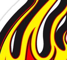 Feuer flamme 3D  Sticker