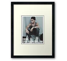 1999 Grayson Dolan-border Framed Print