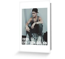 1999 Grayson Dolan-border Greeting Card