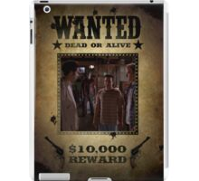 Buffy The Trio Warren Andrew Jonathan Wanted 2 iPad Case/Skin