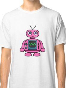 Pink Robot Classic T-Shirt
