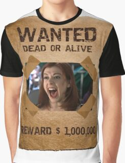 Buffy Willow Wanted 1 Graphic T-Shirt