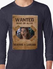 Buffy Willow Wanted 1 Long Sleeve T-Shirt