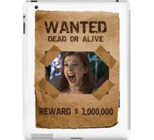 Buffy Willow Wanted 1 iPad Case/Skin