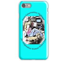 Independent Woman With A Gun iPhone Case/Skin