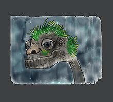 Water Monster by cheekydia