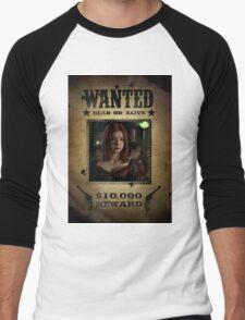 Buffy Willow Wanted 2 Men's Baseball ¾ T-Shirt