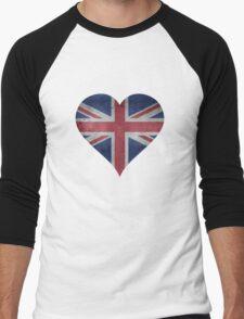 British Heart Men's Baseball ¾ T-Shirt
