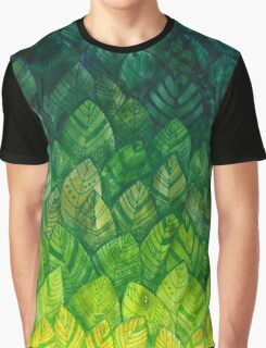 Spring Leaves Graphic T-Shirt