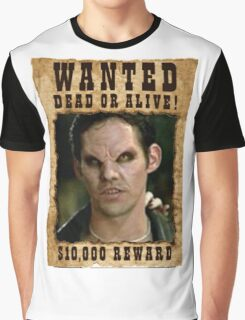 Buffy Xander Wanted Vampire Graphic T-Shirt