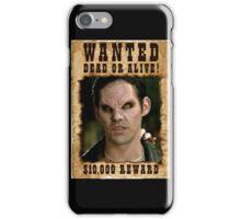 Buffy Xander Wanted Vampire iPhone Case/Skin