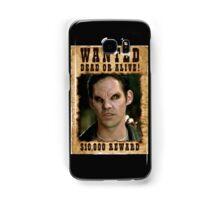 Buffy Xander Wanted Vampire Samsung Galaxy Case/Skin