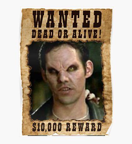 Buffy Xander Wanted Vampire Poster